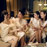 Mỹ nhân diện sắc trắng đồng điệu, dự tiệc của NTK Đỗ Mạnh Cường tại Quảng Nam