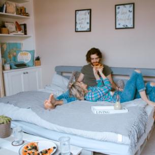 Sắp xếp phòng ngủ để vợ chồng luôn nồng nàn