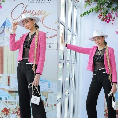 Siêu mẫu Thanh Hằng hội ngộ dàn hoa hậu, á hậu và người mẫu tại buổi công bố sự kiện Fashion Voyage 3