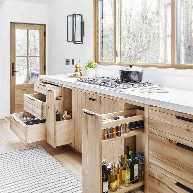 10 giải pháp hay giúp căn bếp gọn gàng