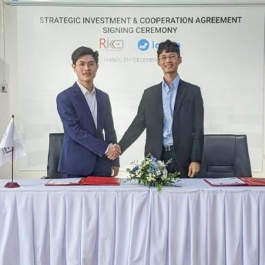 Startup Icetea Platform nhận đầu tư lâu dài từ Rikkeisoft