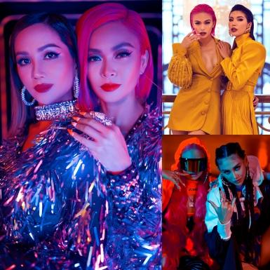 Mâu Thuỷ lần lượt đọ style với H'Hen Niê, Võ Hoàng Yến, Minh Tú trong sản phẩm ca nhạc thời trang