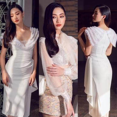 """Hoa hậu Lương Thùy Linh yêu kiều trong BST """"Classique"""" của NTK Đỗ Long."""