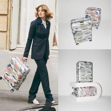 """RIMOWA """"nâng tầm"""" thiết kế vali Original cổ điển với họa tiết rằn ri hiện đại"""