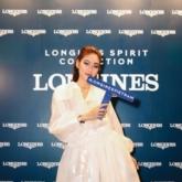 """""""Top 100 gương mặt đẹp nhất thế giới"""" Thảo Nhi Lê xuất hiện rạng ngời tại sự kiện ra mắt đồng hồ Longines Spirit"""