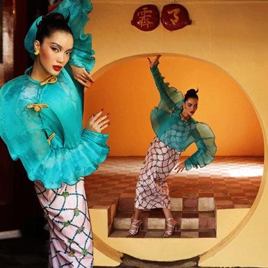 """Lâm Bích Tuyền biến hóa """"xuất thần"""" trong bộ ảnh thời trang đặc biệt"""