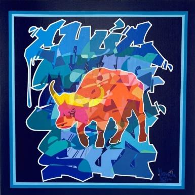 Nghệ sĩ Graffiti Cyril Kongo đưa văn hoá phương Đông thăng hoa cùng nghệ thuật đường phố Graffiti trong tác phẩm mới
