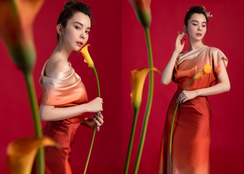 hoa hau huynh vy trong bo anh tet - 4