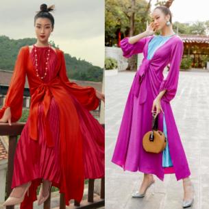 Dàn mỹ nhân Việt mê đắm thiết kế áo tứ thân cách điệu của NTK Adrian Anh Tuấn
