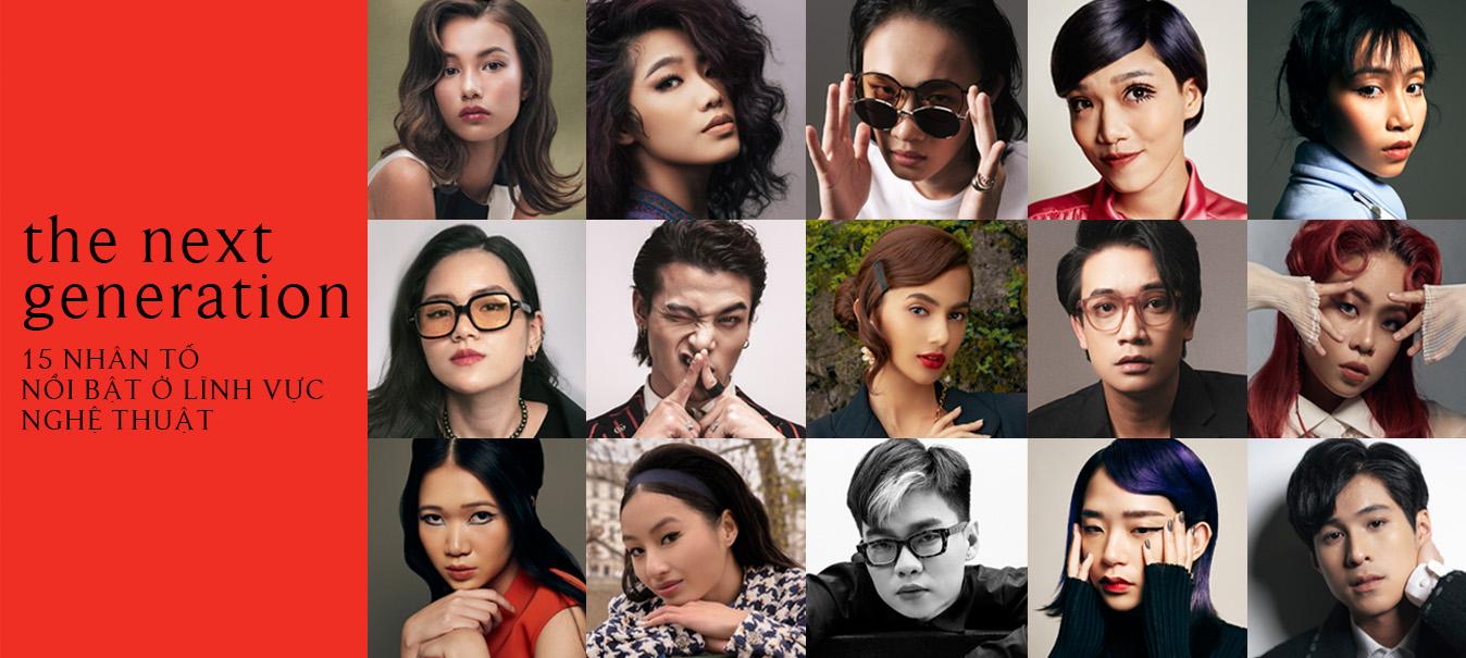 The next generation: 15 nhân tố mới nổi bật ở lĩnh vực nghệ thuật Việt Nam
