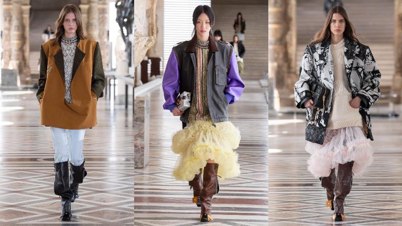 bst louis vuitton thu dong 2021 womanswear - 2