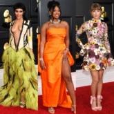 """Muôn hoa khoe sắc trên thảm đỏ Grammy 2021, từ trang phục """"hàng thửa"""" tới đồ Thu Đông 2021"""