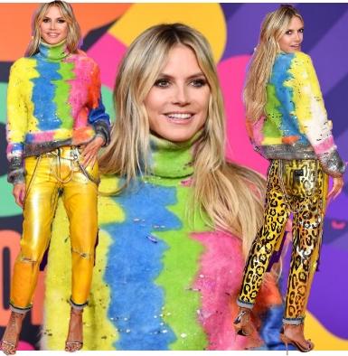 Heidi Klum trẻ trung ở tuổi 47 trong thiết kế mới nhất từ thương hiệu Dolce & Gabbana