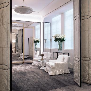 Ghé chân đến salon haute couture của Chanel tại số 31 phố Cambon ở Paris