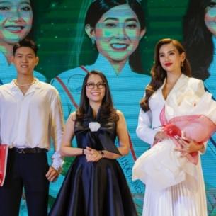 Siêu mẫu Võ Hoàng Yến lần đầu làm giám khảo cuộc thi hoa khôi sinh viên