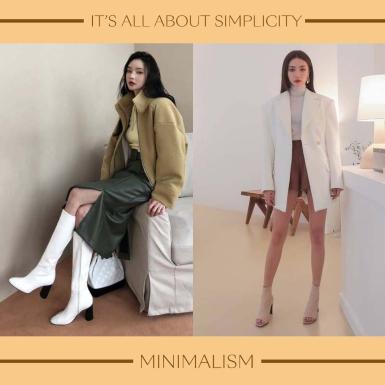 Tất tần tật gợi ý phối đồ phong cách minimalism không bao giờ lỗi mốt cho các nàng