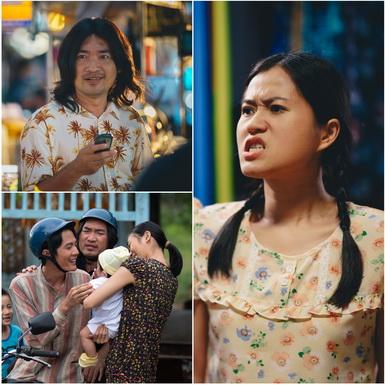 Lâm Vỹ Dạ, Phương Lan cùng cặp kè với Tiến Luật trong phim mới