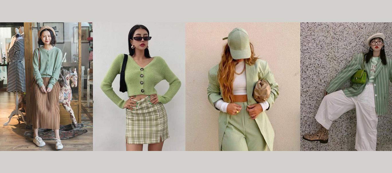 Bỏ túi những gợi ý phối đồ màu xanh lá cây không bao giờ lỗi thời cho các nàng