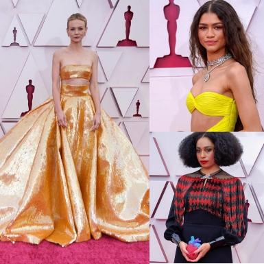 Thảm đỏ Oscar 2021 lộng lẫy những sắc màu từ những tài năng và nhan sắc đình đám Hollywood