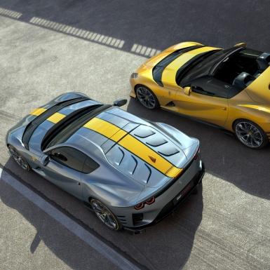 Ferrari ra mắt hai mẫu xe phiên bản đặc biệt dựa trên 812 Superfast