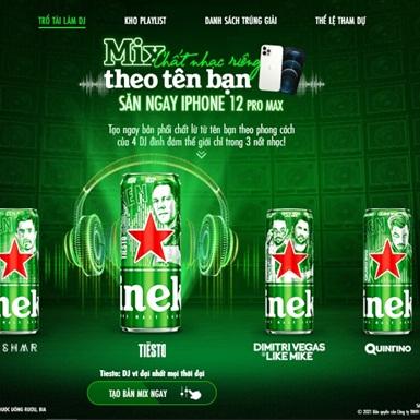 """Heineken bắt tay Top DJs tung list nhạc EDM cực đỉnh cùng cơ hội """"rinh"""" quà xịn cực dễ"""