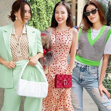 """Ngắm trang phục sao Việt ngày nóng, học lỏm công thức mix đồ cực """"cool"""""""