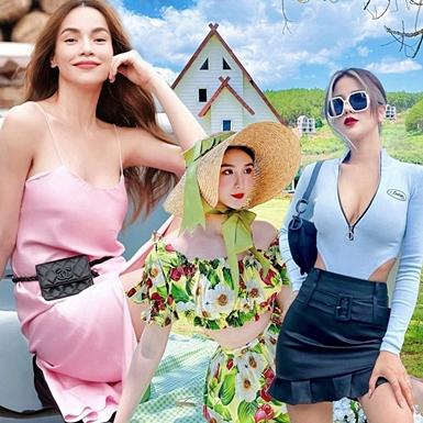 Mỹ nhân Việt đón hè với loạt trang phục street style ngập sắc pastel