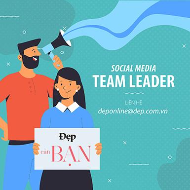 Tạp chí Đẹp tuyển dụng Social Media Team Leader tại TP.HCM
