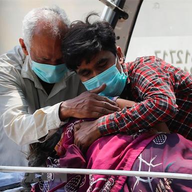 Số người mắc COVID-19 tại Ấn Độ đã vượt qua ngưỡng 25 triệu ca