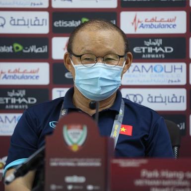 Huấn luyện viên Park Hang-seo tính gì trước cuộc chạm trán UAE?