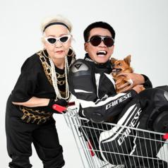 """Lão đại Wowy bị lu mờ khi cưỡi mô tô chụp ảnh cùng bà ngoại 80 tuổi """"siêu ngầu"""""""