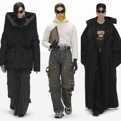 BST Balenciaga Xuân Hè 2022: Thời trang, công nghệ và cuộc sống qua lăng kính của Demna Gvasalia
