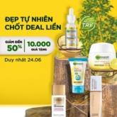 Thiều Bảo Trâm giới thiệu combo không thể xịn sò hơn cho phái đẹp: Garnier ra mắt tại Việt Nam và mở bán độc quyền chỉ trên Shopee!