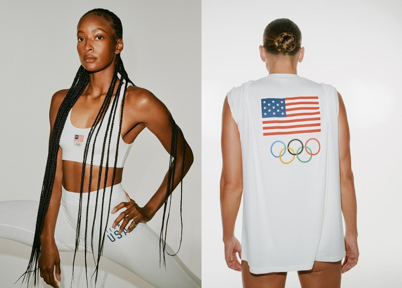 kim kardashian thiet ke do cho vdv olympics - 6