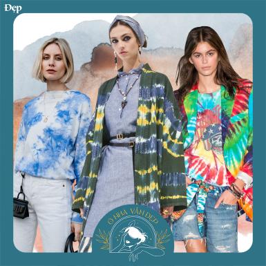 #onhavanSTYLE: Phủ sắc màu tươi sáng cho set đồ thời trang mùa dịch thêm phần rực rỡ với 4 kiểu tie-dye này