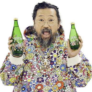 PERRIER hợp tác cùng nghệ sĩ đương đại Takashi Murakami trong phiên bản giới hạn