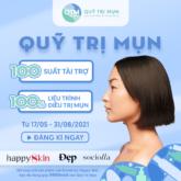 """Ra mắt """"Quỹ trị mụn"""" đầu tiên tại Việt Nam, tài trợ 100 suất trị mụn miễn phí"""