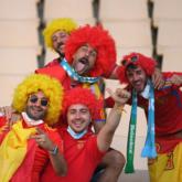 Những hình ảnh ấn tượng của các cổ động viên EURO 2020