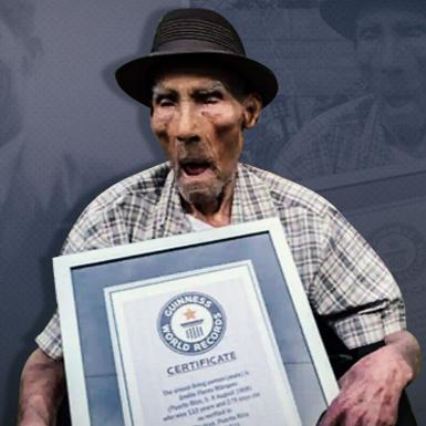 Cụ già 112 tuổi ở Puerto Rico lập kỷ lục Guinness về tuổi thọ