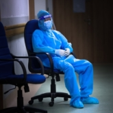 """Bên trong bệnh viện """"tuyến đầu"""" chống dịch"""