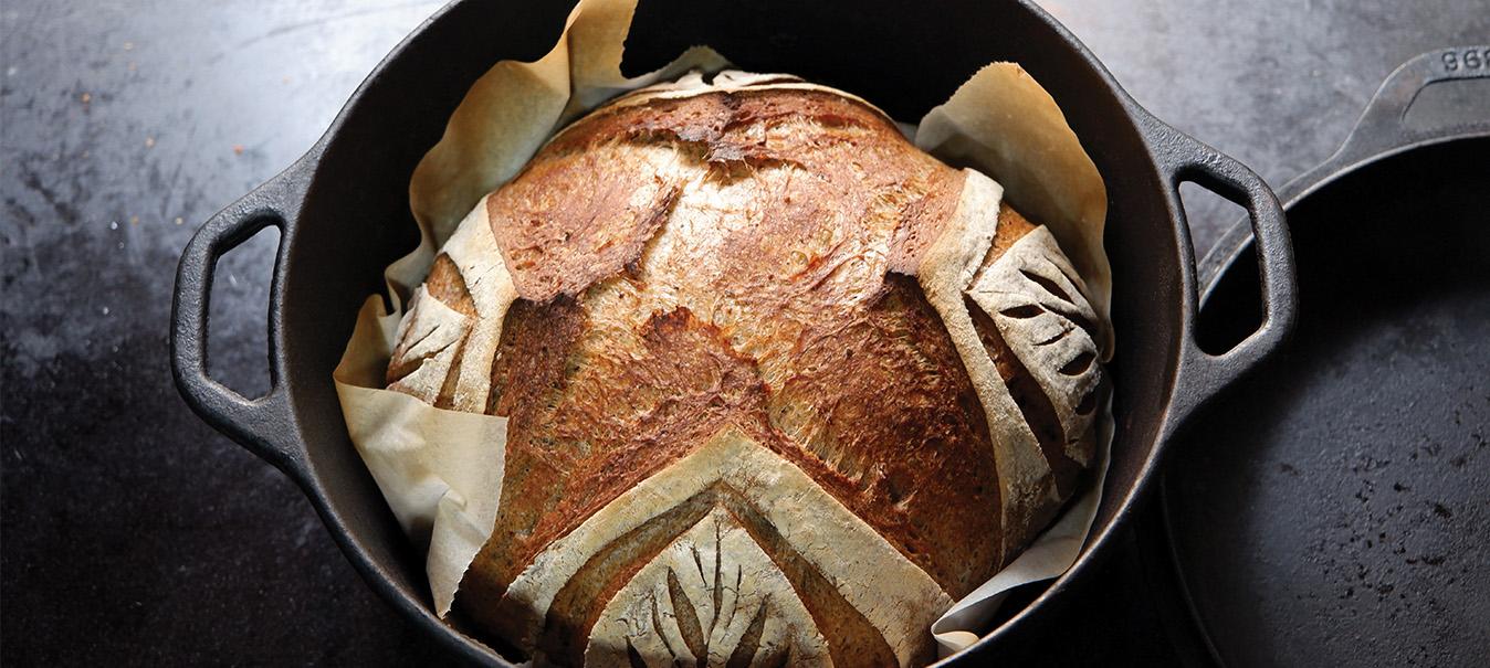 Làm bánh mì sourdough và phô mai tươi homemade: Chậm mà vui