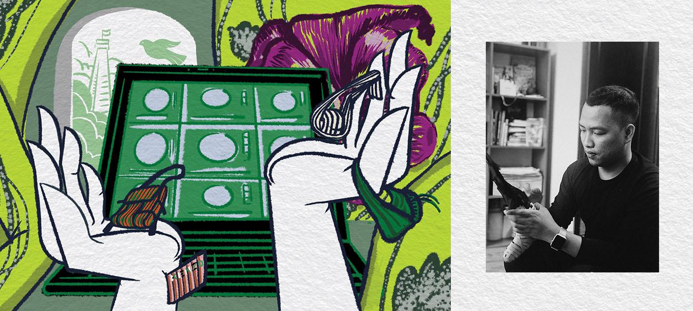 Họa sĩ Imizukanda: sao phải chán bốn bức tường khi có thể vẽ lên chúng?