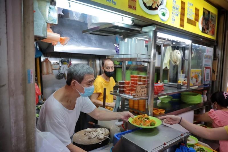 an phan van hoa hawker du lich singapore - 3
