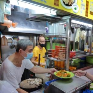 an phan van hoa hawker du lich singapore - featured image