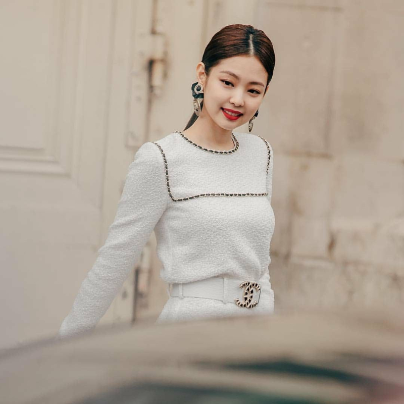 jennie trong chien dich coco neige chanel - 1