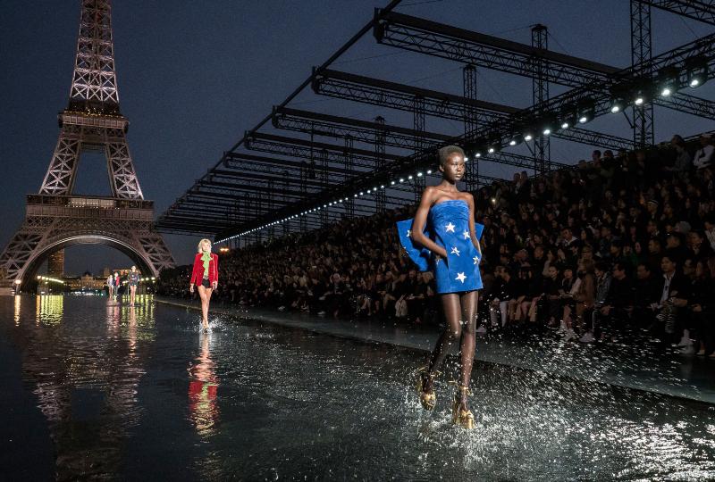 saint laurent tro lai paris fashion week - 1