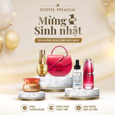 Shopee Premium mừng sinh nhật 1 tuổi với chuỗi quà tặng lớn nhất từ trước đến nay