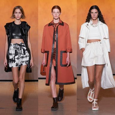 Hermès mang ánh dương tích cực cho ngày trở lại cuộc sống bình thường mới vào BST Xuân Hè 2022