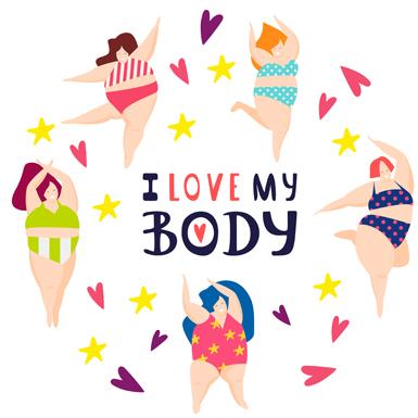 I love my body – Cơ thể của mình. Không yêu thì ai yêu?