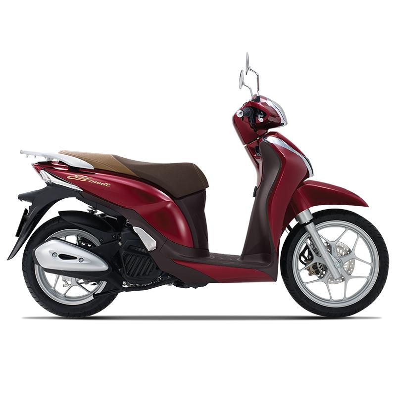 Honda SH Mode có thêm màu đỏ đậm cá tính hơn